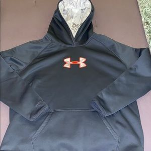 under armour storm white camo cold gear hoodie